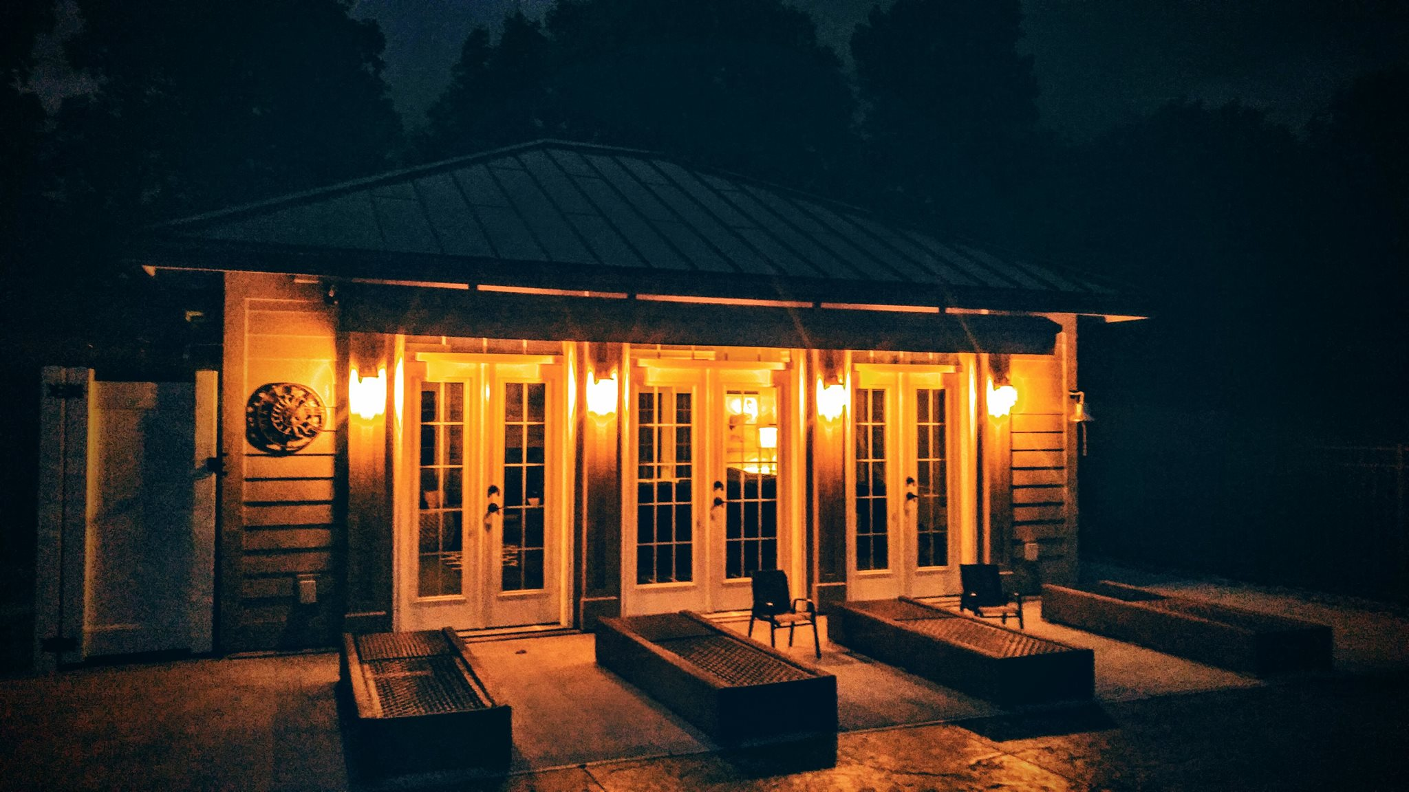 Pool house lighting inside and out pilosi electric for House lights